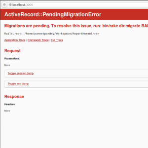 Pending Migration Rails4